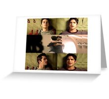 Sciles [Cuddling] Greeting Card