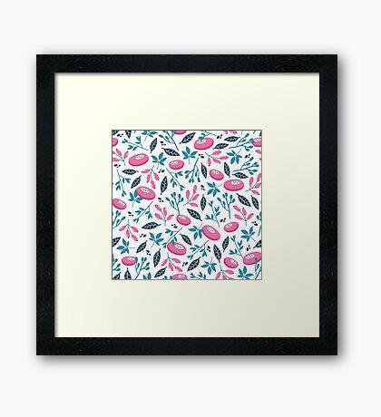 Natural pattern Framed Print