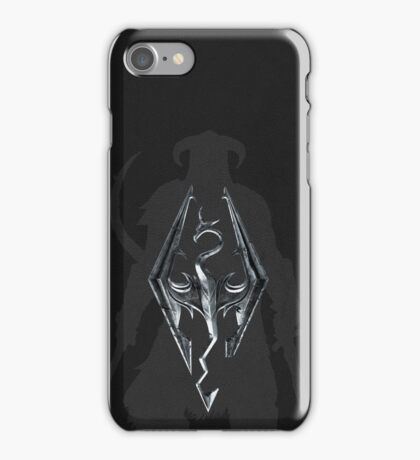 Skyrim Leather iPhone Case/Skin