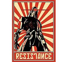 Geth Resistance Legion Photographic Print