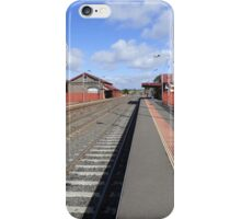 Riddells Creek Line iPhone Case/Skin