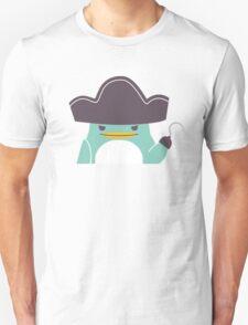 Happy funny cartoon penguin pirate T-Shirt
