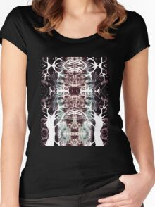 Mystic Forest II Women's Fitted Scoop T-Shirt
