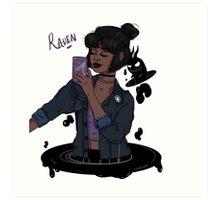 Teen Titans Raven  Art Print