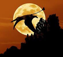 Rhamphorhynchus Moon by Alphyn