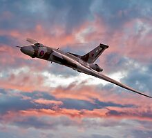 Avro Vulcan at Dawn by © Steve H Clark
