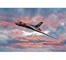 Avro Vulcan at Dawn Photographic Print