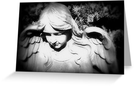 ANGEL IN BLACK AND WHITE by Colleen2012