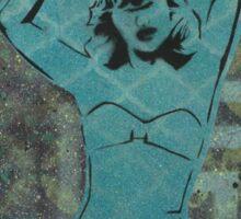 squid lady Sticker