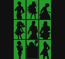 Tales of Xillia 2 - Character Roster (Green) Unisex T-Shirt