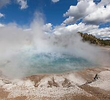 Excelsior Geyser Crater-Yellowstone NP by daysray