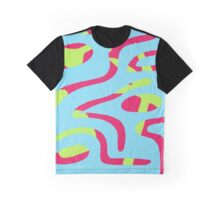 Double Reality (Lime) Graphic T-Shirt