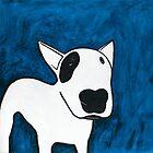 Blue Dog by Emelie Coffey