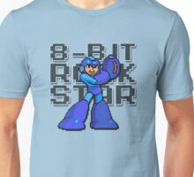 Megaman - 8-Bit Rockstar (Alternate) Unisex T-Shirt