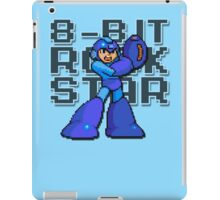 Megaman - 8-Bit Rockstar (Alternate) iPad Case/Skin