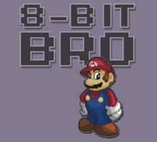 Mario - 8-Bit Bro Kids Clothes
