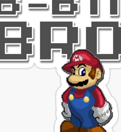 Mario - 8-Bit Bro Sticker