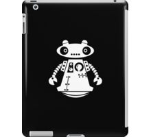Cute Robot 4 White iPad Case/Skin