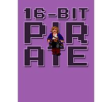 Guybrush - 16-Bit Pirate Photographic Print
