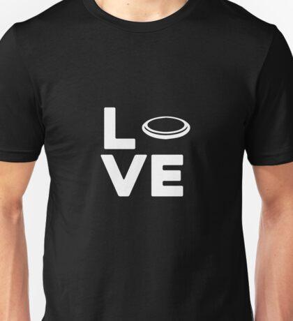 Love Frisbee Unisex T-Shirt