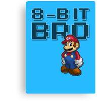 Mario - 8-Bit Bro Canvas Print