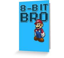 Mario - 8-Bit Bro Greeting Card
