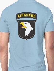 101st Airborne - Cell Phone Case - T-Shirt - Tote Bag - Pillow... Unisex T-Shirt