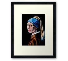 Girl with the Pearl Earring Framed Print