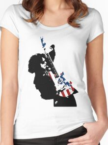 Kick Out The Jams!!! It's WAYNE KRAMER!!! Women's Fitted Scoop T-Shirt