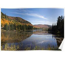 Fall Colours in Canada - Tremblant, Quebec Poster
