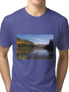 Fall Colours in Canada - Tremblant, Quebec Tri-blend T-Shirt