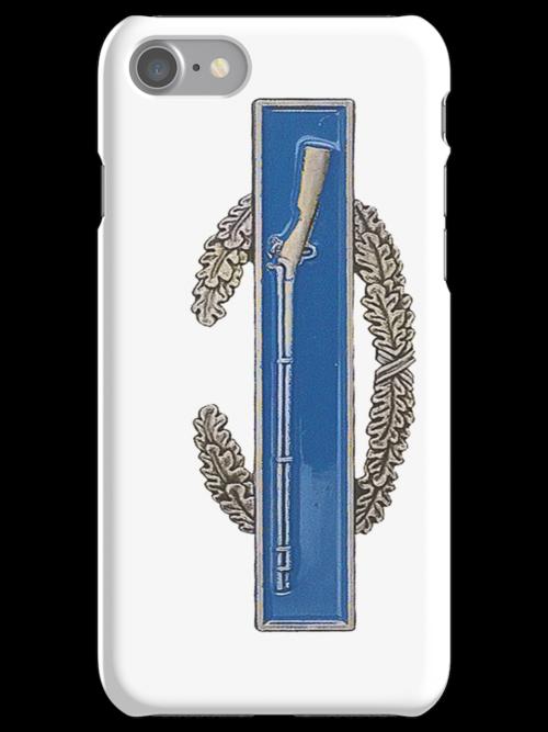 Combat Infantry Badge - CIB - iPhone Case by Buckwhite