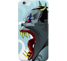 Demon Scream iPhone Case/Skin