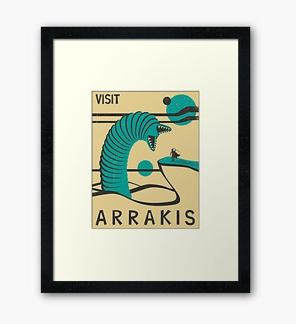 Visit Arrakis Framed Print