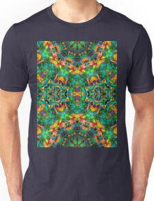 Fractal Floral Abstract G87 Unisex T-Shirt