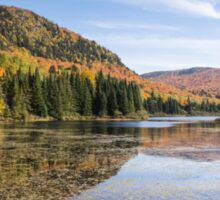 Fall colours in Canada - Tremblant, Quebec Sticker