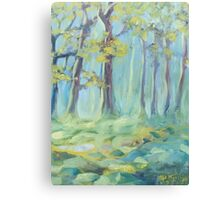 Soft Moss Canvas Print