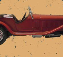 Vintage Wheels: Alfa Romeo Zagato Sticker
