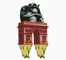 popart monkey - spaceship by #Palluch #Art