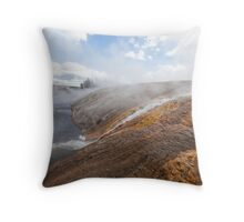 Into The River Throw Pillow