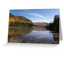 Fall colours in Canada Greeting Card