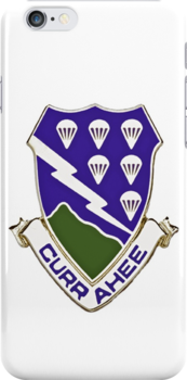 Currahee - 506th Infantry - 101st Airborne - Cell Phone Case & More... by Buckwhite
