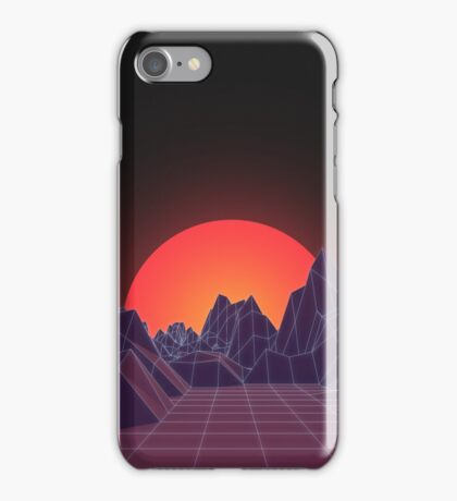 80s Vaporwave Retro iPhone Case/Skin