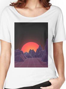 80s Vaporwave Retro Women's Relaxed Fit T-Shirt