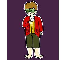 Bilbo Swaggins (purple) Photographic Print