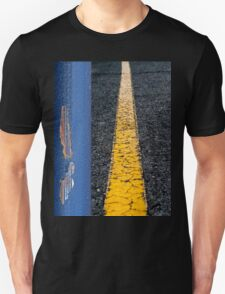 Down the Middle Unisex T-Shirt