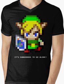 Link Sprite (Zelda) Mens V-Neck T-Shirt