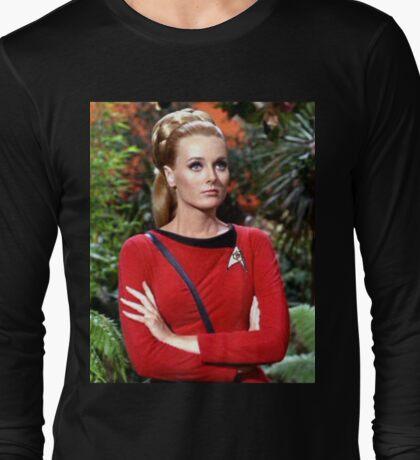 Celeste Yarnall's Trek Long Sleeve T-Shirt