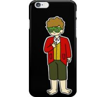 Bilbo Swaggins (black) iPhone Case/Skin
