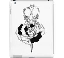 Rose and Scissors  iPad Case/Skin